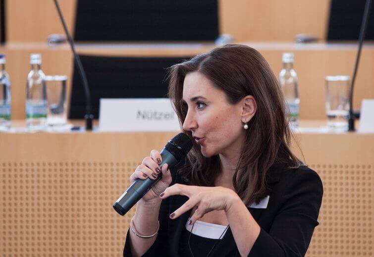 Peggy Patzschke im Landtag